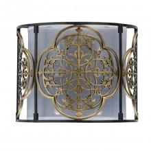 Настенный светильник Chiaro 109020302 Франческа 2*40W Е14 220 V бронзовый
