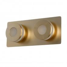 Светодиодный спот Chiaro 549020602 Пунктум 2*5W LED 220 V IP44 медный