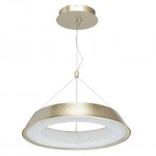 Подвесной светодиодный светильник Chiaro 703010801 Перегрина 35W LED 220 V золотой