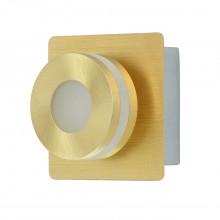 Светодиодный спот Chiaro 549020201 Пунктум 1*5W LED 220 V IP44 золотой
