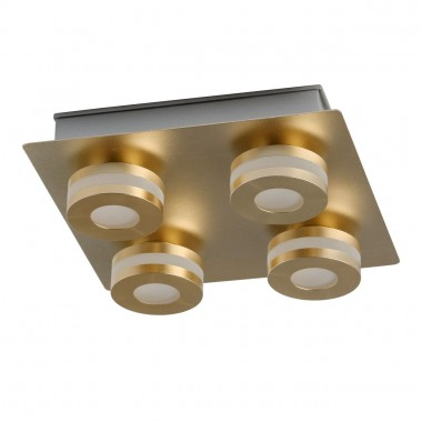Светодиодный спот Chiaro 549010904 Пунктум 4*5W LED 220 V IP44 медный