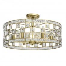 Потолочный светильник Chiaro 121011606 Монарх 6*40W E14 220 V золотой