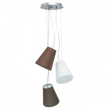 Подвесной светильник MW-Light 723010203 Эйберген 3*40W E27 220 V хром