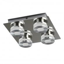 Потолочный светодиодный светильник Chiaro 549010704 Пунктум 4*5W LED 220 V IP44 хром