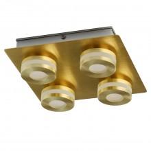 Светодиодный спот Chiaro 549010804 Пунктум 4*5W LED 220 V IP44 золотой