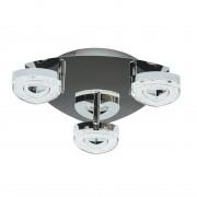 Спот DeMarkt 704011103 Этингер 3*4W LED 220 V хром