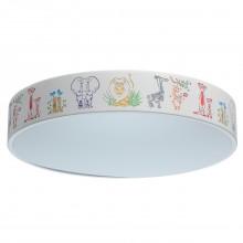 Люстра в детскую Chiaro 716010201 Гуфи 50W LED 220 V (пульт) белый