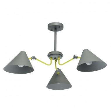 Потолочная люстра MW-Light 711010203 Чили 3*40W E27 220 V серый