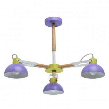 Потолочная люстра MW-Light 711010403 Чили 3*8W E27 220 V (энергосб) разноцветный