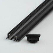 Шинопровод однофазный Chiaro TR 2*1M BL Трек 1 группа 1м черный