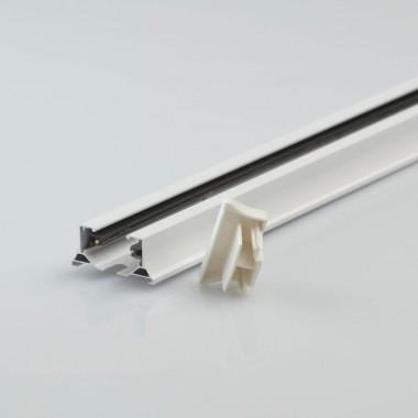 Шинопровод однофазный Chiaro TR 2*1,5M WT Трек 1 группа 1,5м белый