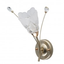 Бра MW-Light 294026301 Подснежник 1*40W E14 220 V перламутровое золото