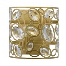 Бра MW-Light 345022602 Лаура 2*40W E14 220 V золото