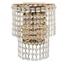 Бра MW-Light 447021302 Патриция 2*40W E14 220 V золото