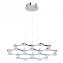 Подвесная светодиодная люстра De Markt 631014201 Ракурс 30W LED 220 V хром