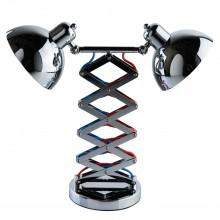 Настольная лампа MW-Light 691032602 Таун 2*40W E27 220 V хром
