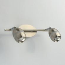Спот De Markt 704022802 Этингер 2*4W LED 220 V матовый никель