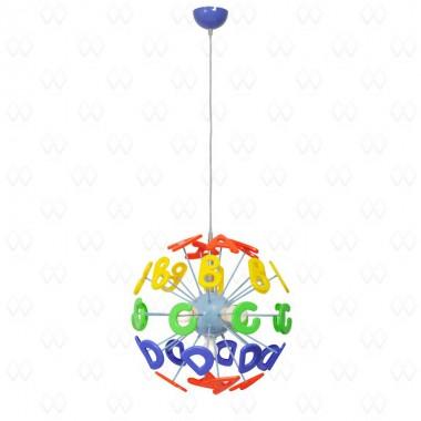 Люстра в детскую Mw-light 365013505 Улыбка