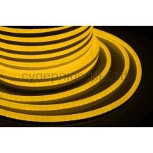 Гибкий неон светодиодный, постоянное свечение, желтый, 220V, бухта 50м, Neon-Night 131-011