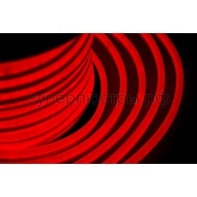 Гибкий неон светодиодный, постоянное свечение, красный, 220V, бухта 50м, Neon-Night 131-022