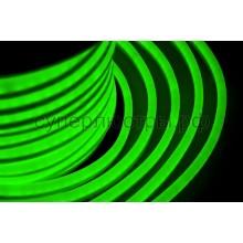Гибкий неон светодиодный, постоянное свечение, зеленый, 220V, бухта 50м, Neon-Night 131-024