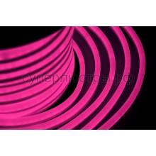 Гибкий неон светодиодный, постоянное свечение, розовый, 220V, бухта 50м, Neon-Night 131-027