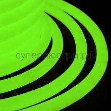 Гибкий неон светодиодный 360, постоянное свечение, зеленый, 220V, бухта 50м, Neon-Night 131-034