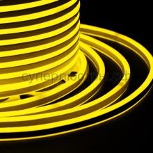 Гибкий Неон LED SMD, компактный 7х12мм, двусторонний, жёлтый, 120 LED/м, бухта 100м, Neon-Night 131-061