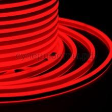 Гибкий Неон LED SMD, компактный 7х12мм, двусторонний, красный, 120 LED/м, бухта 100м, Neon-Night 131-062