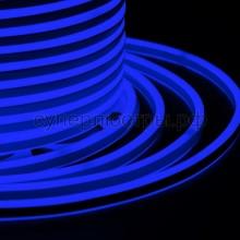 Гибкий Неон LED SMD, компактный 7х12мм, двусторонний, синий, 120 LED/м, бухта 100м, Neon-Night 131-063