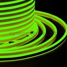 Гибкий Неон LED SMD, компактный 7х12мм, двусторонний, зелёный, 120 LED/м, бухта 100м, Neon-Night 131-064