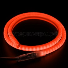 Гибкий Неон LED SMD, форма - D, красный, 120 LED/м, бухта 100м, Neon-Night 131-072