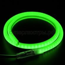Гибкий Неон LED SMD, форма - D, зелёный, 120 LED/м, бухта 100м, Neon-Night 131-074