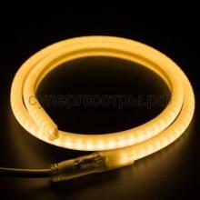 Гибкий Неон LED SMD, форма - D, тёплый белый, 120 LED/м, бухта 100м, Neon-Night 131-076