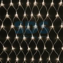 """Гирлянда """"Сеть"""" 2х1,5м, свечение с динамикой, прозрачный провод, 288 LED, 230V, теплый белый, Neon-Night 215-046"""