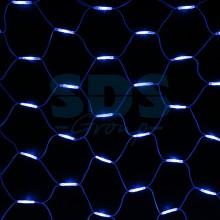 "Гирлянда ""Сеть"" 2x3м, белый провод, 432 LED, белый/синий, Neon-Night 217-143"