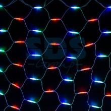 "Гирлянда ""Сеть"" 2x3м, белый провод, 432 LED, RGB, Neon-Night 217-149"