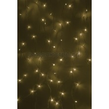 """Гирлянда """"Светодиодный Дождь"""" 2,5x2 м, свечение с динамикой, прозрачный провод, 230V, теплый белый, Neon-Night 235-056"""
