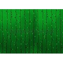 """Гирлянда """"Светодиодный Дождь"""" 2х1,5м, постоянное свечение, черный провод, 230V, зеленый, 360 LED, Neon-Night 237-124"""