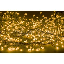 "Гирлянда ""Мишура LED"" 3 м прозрачный провод, 288 LED, желтый, Neon-Night 303-601"