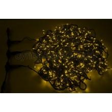 """Гирлянда """" LED ClipLight"""" 24V, 3 нити по 20 м, свечение с динамикой, желтый, Neon-Night 323-301"""