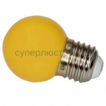 Лампа шар Е27 3 LED d45мм - желтый, Neon-Night 405-111