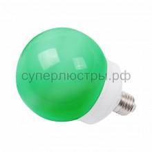 Лампа шар Е27 12 LED d100мм зеленый, Neon-Night 405-134