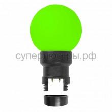 Лампа шар 6 LED для белт-лайта, зеленый, d45мм, зелёная колба, Neon-Night 405-144