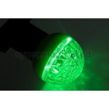 Лампа шар Е27 9 LED d50мм зеленый, Neon-Night 405-214