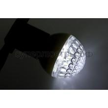 Лампа шар Е27 9 LED d50мм белая, Neon-Night 405-215