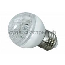 Лампа шар Е27 10 LED d50мм теплый белый 24V, Neon-Night 405-616