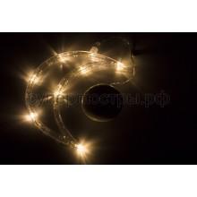 """Фигура светодиодная """"Месяц"""" на присоске с подвесом, теплый белый, Neon-Night 501-014"""