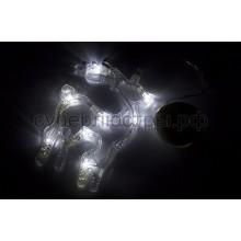 """Фигура светодиодная """"Олененок"""" на присоске с подвесом, белый, Neon-Night 501-016"""
