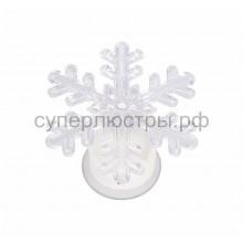 """Фигура светодиодная на присоске """"Снежинка маленькая"""", RGB, Neon-Night 501-026"""